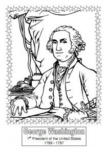 President Coloring Book -  Pinned by @PediaStaff – Please Visit http://ht.ly/63sNt for all our pediatric therapy pins
