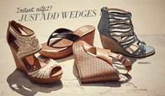 DSW | Wedges - Instant outfit? Just add wedges