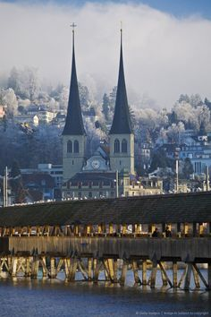 Lucerne City in Switzerland
