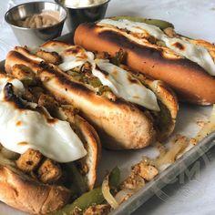Recipes — Chef Charity Morgan Chicken Philly, Chicken Steak, Chef Recipes, Vegan Recipes, Vegan Foods, No Boil Lasagna, Chickpea Patties, Vegan Fish, Vegane Rezepte