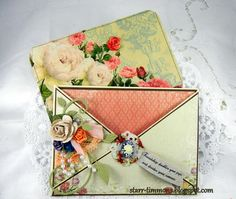 Paper craft - envelope and card
