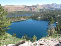 Bear Lakes Basin, California   Lake George in the Mammoth Lakes Basin. Photo courtesy Mammoth Lakes ...