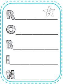 Idées de présentation des élèves pour la rentrée acrostiche prénom