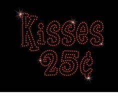 Kisses 25 Cents Valentine's Day XOXO by MyCreativeOutletTime