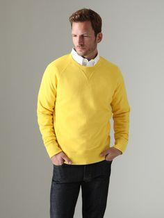 Jake spade: Crewneck Sweatshirt...LOVE the color!