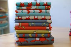 ric rac rabbits – fabric bundle