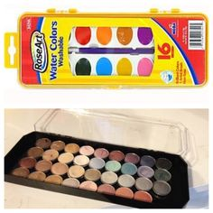 DIY makeup palette and it cost about 5$ !!! I'm in love with this and can't wait to use it!