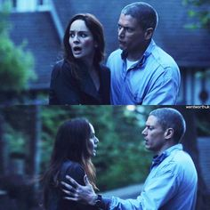"""Michael's affection for trying to calm Sarah. """"come back to me sweetheart. #PrisonBreak #5x9"""