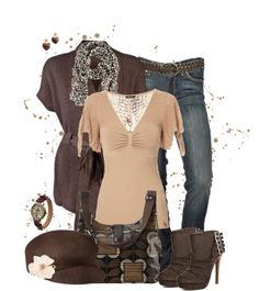 \Brown Splatter\ by lmm2nd on Polyvore,