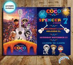 Bienvenido a Dulcestriplea Coco invitation, Coco, Coco party, Coco birthday, disney coco, coco movie party, coco printable, birthday party, coco movie invite ARCHIVO DIGITAL, NINGÚN ELEMENTO SERÁ ENVIADO FÍSICAMENTE O IMPRESO