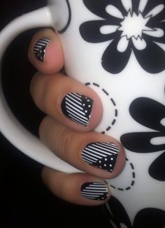 February Sisters Style - Monochromania!  http://heatherperry.jamberrynails.net/home/ProductDetail.aspx?id=944#.USVc1KWTiSo