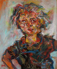 Self-portrait Abstract Art, Portrait, Painting, Men Portrait, Painting Art, Paintings, Drawings, Portraits