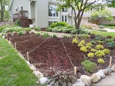 front yard vegetable and flower bed-I don't think my neighborhood would be thrilled    from http://thecasualgardener.blogspot.com