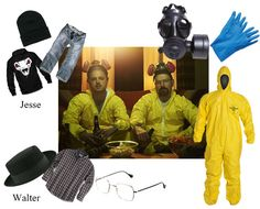 Breaking Bad for Halloween: Walter White and Jesse Pinkman costumes