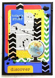 Kaisercraft Back 2 School Collection : card by Amanda Baldwin