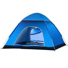 Tent camping outdoor automatic tent twin set speed to open waterproof breathable UV  six >>> See this great product.