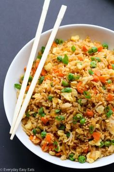 Chinese fried rice 15 minute vegetarian fried rice a healthy chinese fried rice ccuart Image collections