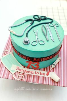 If you like this, why not check out our 'Cake inspiration for medics' board? Beautiful Cakes, Amazing Cakes, Medical Cake, Doctor Cake, Novelty Cakes, Cupcake Cookies, Cupcakes, Fancy Cakes, Savoury Cake