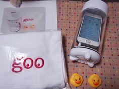 papom @tizusan gooサンクスチームさまよりgooバススピーカーセットが届きました(^^)v お風呂がますます楽しくなりそうです♪ gooサンクスチームさま、、ありがとうございました♪ #welovegoo  https://twitter.com/tizusan/status/520939619303432192