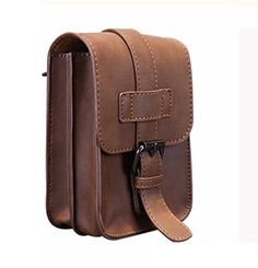 Sale 30% (19.5$) - 5.5inches Smart Phone Pu Leather Waist Bag Casual Crossbody Bag
