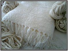 Mantas tejidas en telar