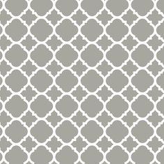 Liberty 18 in. x 117.6 in. Vintage Inspired Adhesive Quatrefoil Drawer Paper, Grey-DLN005-GR-C - The Home Depot