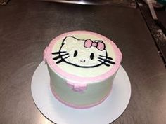 Hello kitty pretty in pink cake