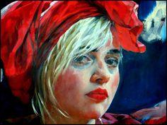 détail d'un tableau de Xenia Hausner | par togipan