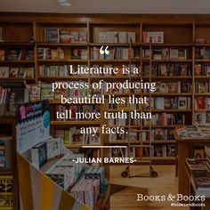 Julian Barnes #booksandbooks
