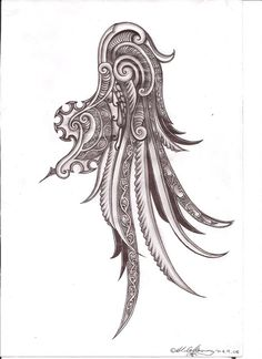 Image result for kowhaiwhai tattoo
