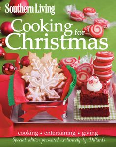 Support your local Ronald McDonald House by purchasing the Southern Living Cookbook for only $10 at your local Dillard's.  Best bang for your buck gift that helps a great cause too!