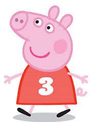 Image result for peppa pig cake template