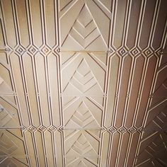 """""""Deco ceiling, Camberwell"""" Photo taken by @melbourneartdeco on Instagram, pinned via the InstaPin iOS App! http://www.instapinapp.com (09/27/2014)"""
