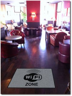 Tapis espace wifi