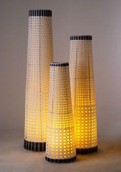 floor lamp lythos synthetic xl rattan