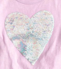 Updated flip sequin from Jcrew (crewcuts) with rectangle shape flip sequins w/ pastel tone color changing sequins