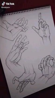 Art Drawings Sketches Simple, Pencil Art Drawings, Desenhos One Direction, Hand Drawing Reference, Art Drawings Beautiful, Cartoon Art Styles, Anatomy Art, Art Sketchbook, Aesthetic Art