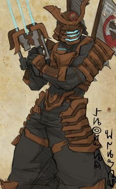 .Samurai Clarke. by MadiBlitz