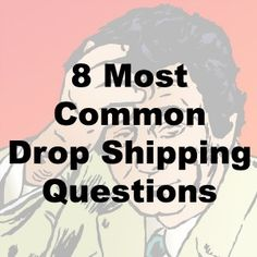 Join the Dropshiping Forum to see how to start your own business. 8 Most Common Drop Shipping Business Questions Work From Home Jobs, Make Money From Home, Make Money Online, How To Make Money, Business Marketing, Business Tips, Online Business, Catering Business, Business Products