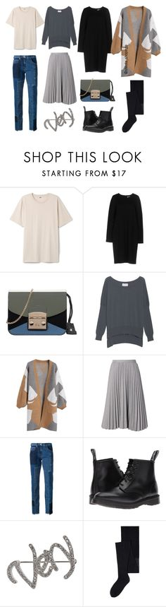 """Капсула"" by shkolashopinga ❤ liked on Polyvore featuring Paul Frank, Jil Sander, Furla, Friendly Hunting, McQ by Alexander McQueen, Dr. Martens, Isabel Marant and MANGO"