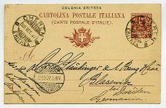 C 11/03, 10 c. Floreale - da CHEREN *ERITREA* 25 SET 07 in Germania.