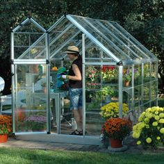 Snap & Grow™ 6' x 8' Hobby Greenhouse