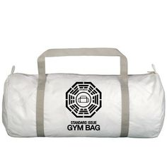 LOST TV Dharma Initiative Standard Issue Gym Bag