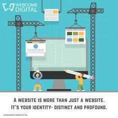 Get fully-packed customised.com website with us. Visit  http://www.webcomedigital.com/     #goodmorning