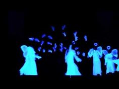 Black-light presentation of It's About The Cross - YouTube