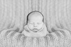 Newborn Boy in Cheesecloth