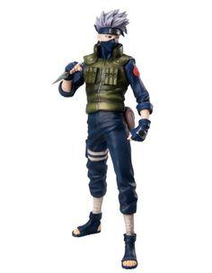 Amazon.com: Naruto Shippuden MegaHouse Deluxe 9 Inch PVC G.E.M. Series Statue Kakashi Hatake: Toys & Games