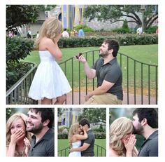 Every girl should have pictures of her proposal <3