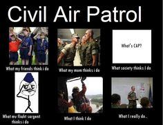"""Correction: the bottom left one should say: """"what my SERGEANT thinks I do"""" Other than that, it's pretty funny!"""