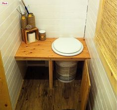 © Tiny Tack Toilet/ Chris Tack/ click here for more bathroom photos - http://www.treehugger.com/bathroom-design/hot-poop-alternative-toilets-update-3.html